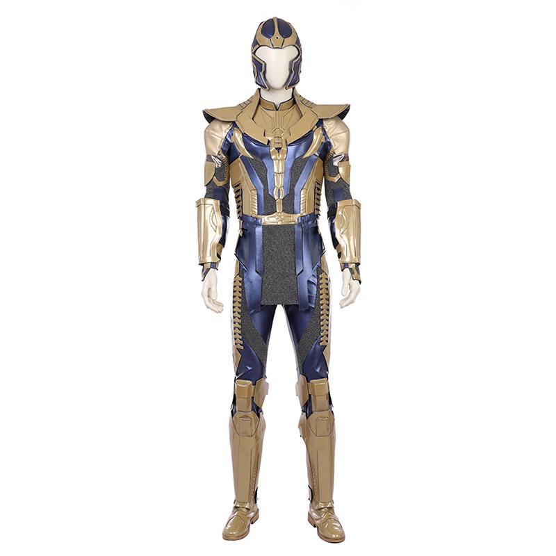 漫之秀 漫威复仇者联盟3灭霸cos衣服盔甲头套cosplay服装男全套