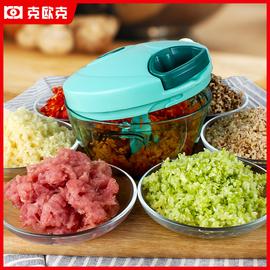 家用手动绞肉机小型拉切辣椒搅拌机饺子馅绞肉神器绞馅机碎蒜菜器图片