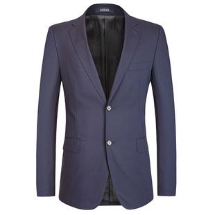 24609 羊毛蓝色标准版西装 西服单西商务正装 男士 雅戈尔专柜4680元