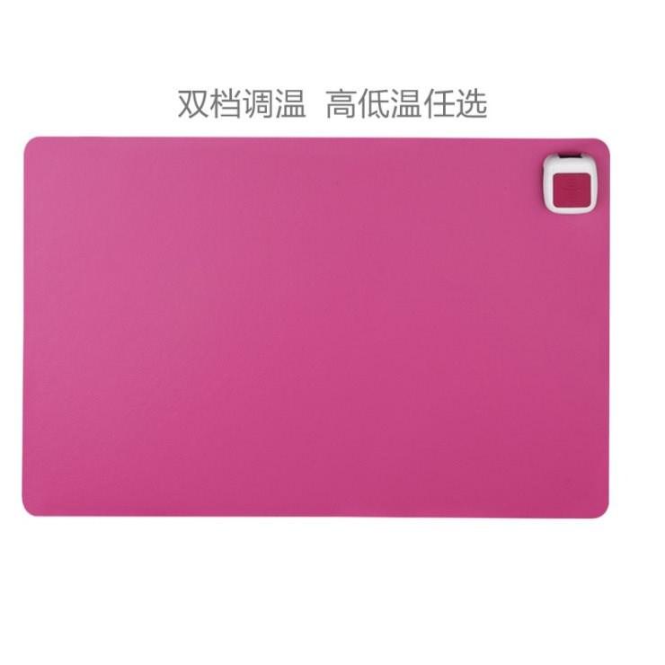 电脑暖手桌面加热写字板书写发热垫板暖桌垫键盘取暖热垫书桌加热