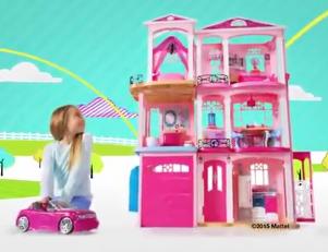 芭比娃娃梦想豪宅度假屋套装公主房车城堡玩具购物车女孩美人鱼
