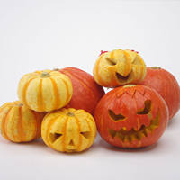 Christmas handmade diy pumpkin lamp carving fresh red pumpkin true pumpkin round pumpkin carving tool material package