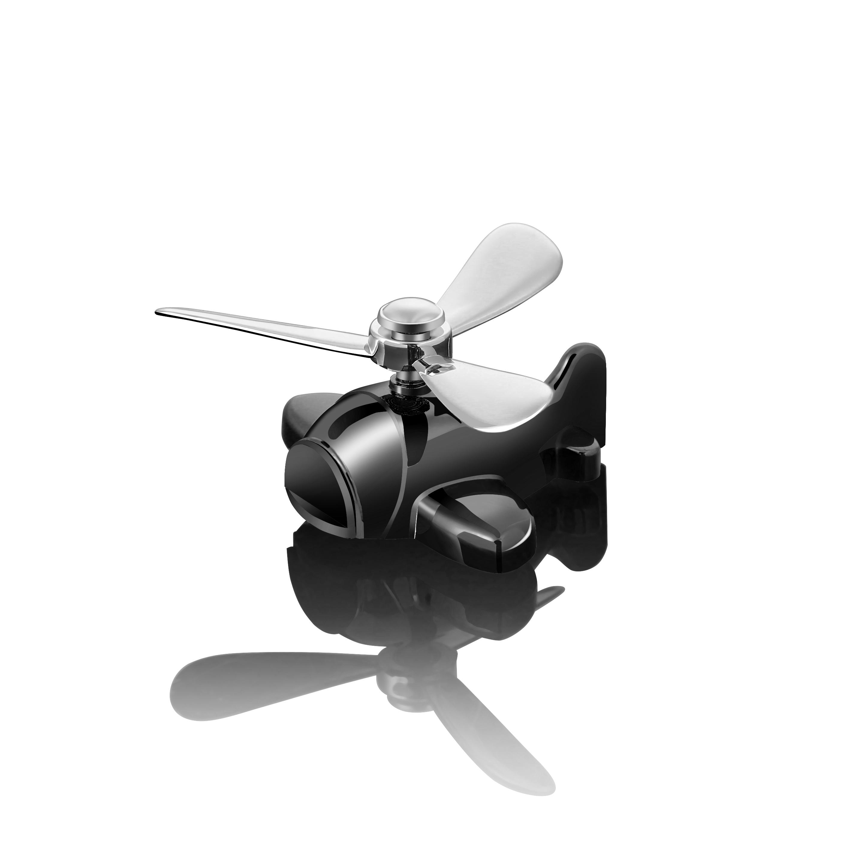 车载香水出风口汽车风扇车内装饰品用品创意空调口空军一号二三号