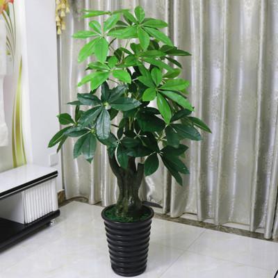 假树发财树仿真植物落地盆栽大型客厅盆景假花塑料花装饰仿真绿植排行