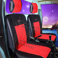 The new Wuling Rongzhiguangguang small card Jiabao Changan Hafei Xiaokang k0102t50 single and double row seat cover PU leather