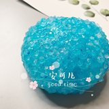 Slime new boron-free sand slime handmade sound control rice mud mixed small cute slice decompression mud