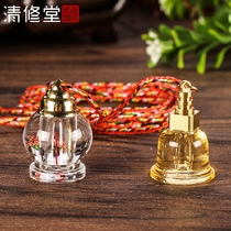His sons Tower pendant boutique ya lippo bottle pendant can open the GA box can carry the hidden Shelley