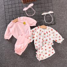 4岁女童新款 两件套潮女童纯棉长袖 童装 宝宝衣服春秋装 套装