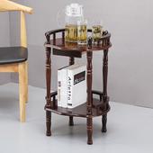 棋牌室茶水架子会所茶几麻将机桌守静杓覆杷架桌沙发边几置物包图片