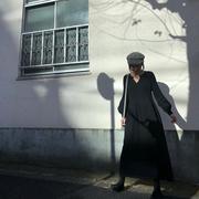 毛衣连衣裙灯笼袖