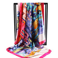 Antelope Good Morning New Square Square Square Beach Scarf Scarf Female Spring and Autumn Wild Thin 2018 Sand Towel