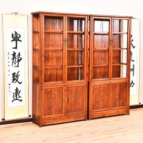 实木仿古珠宝柜陈列柜展示柜立式展柜精品高展示柜玻璃珠宝展柜