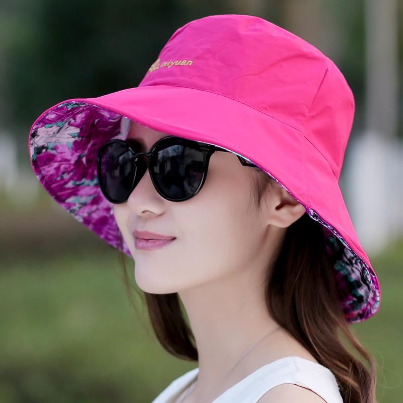 女士新款遮阳帽