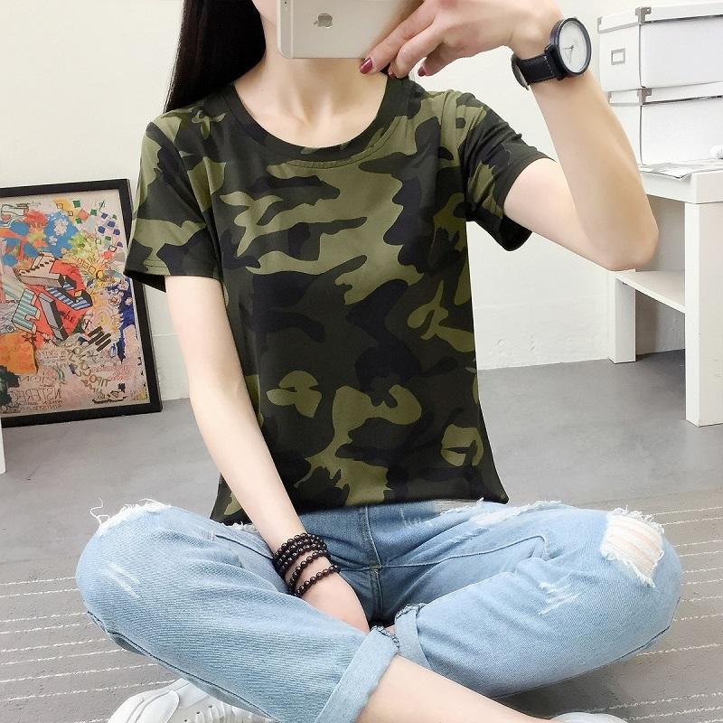 军装女夏装短袖