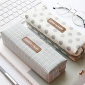 三年二班 创意简约笔袋韩国小清新学生文具袋女大容量铅笔袋