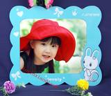 特价挂墙兔子7寸12寸16寸相框 卡通儿童 欧式创意 影楼照片墙相框