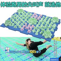 Exécutant masculin petites pousses de bambou doigt plaque pression coréenne doigt plaque surdimensionné douleur super version hiver petit coussin pousses une pression plaque d'appui de massage des pieds