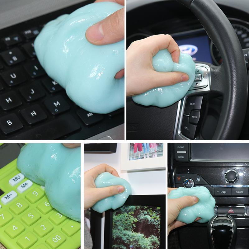 笔记本电脑机械键盘清洁泥缝隙不残留清理套装软胶手机去除尘工具