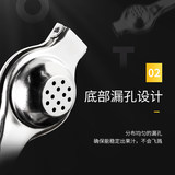 Stainless steel lemon clip lemon squeezer baby manual orange juicer juicer fruit squeezer