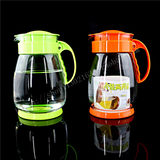 Send brush Chunzhihui large capacity hot and cold pot Glass cold kettle explosion-proof high temperature glass cold kettle teapot