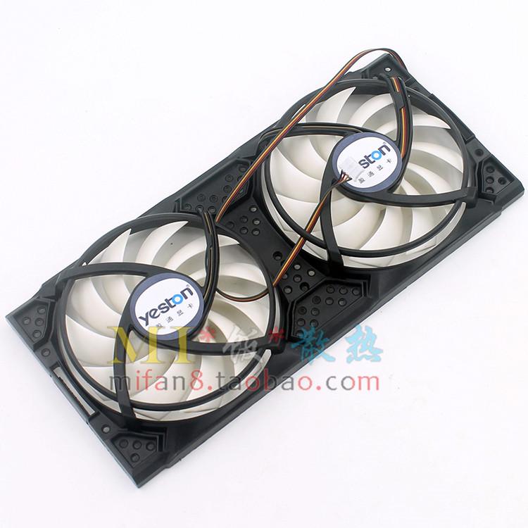 盈通GTX450/460/560极速版 460/550Ti/560SE游戏高手 显卡双风扇