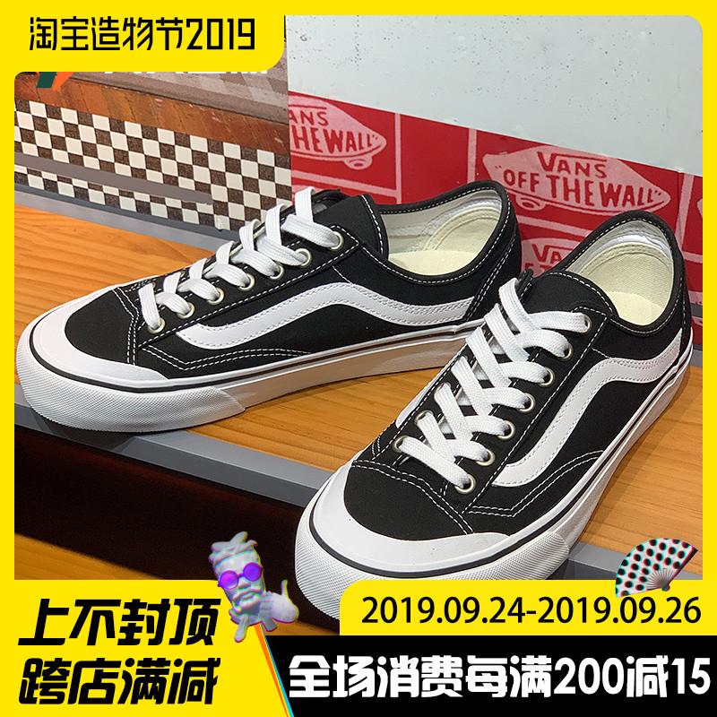 新款Vans/范斯Style36 SF经典黑白低帮男女鞋帆布板鞋VN0A3MVLY28