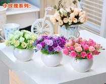 手感保湿马蹄莲仿真花束客厅装饰摆件设绢假花艺顾客们说太美了