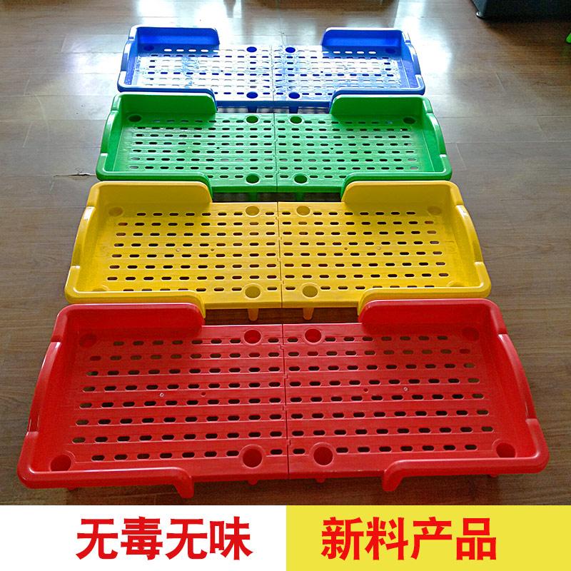 幼儿园专用床折叠午睡床儿童午休床婴儿折叠床塑料小床拼接单人床
