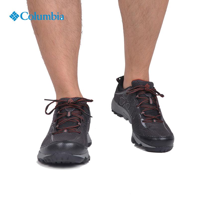 2017秋冬新款Columbia哥伦比亚男款户外缓震防滑防水徒步鞋DM1222