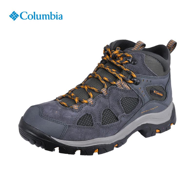 Columbia哥伦比亚户外17秋冬新品 男款防水耐磨登山鞋DM1054