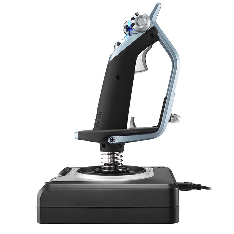 罗技G 赛钛客 X52 HOTAS 飞行模拟摇杆游戏猎鹰微软双手控制器