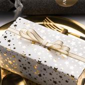 礼物纸烫金礼品纸情人节生日礼盒礼物包装纸纸特种艺术纸