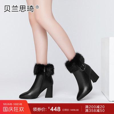 皮鞋真皮女秋冬淘宝上是真的吗