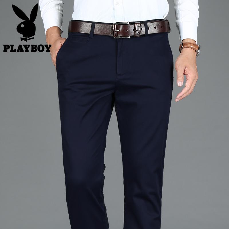 品牌纯色裤子