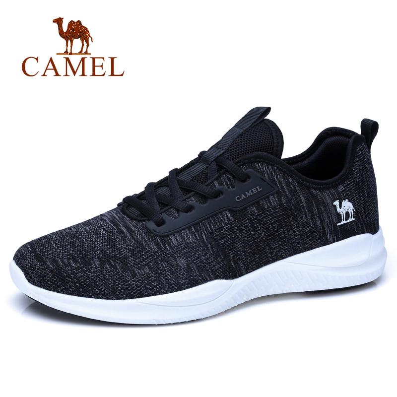 系带网布运动鞋