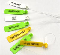 Fishing field pond fishing friends mark label signage nylon cable tie can be printed word LOGO 200