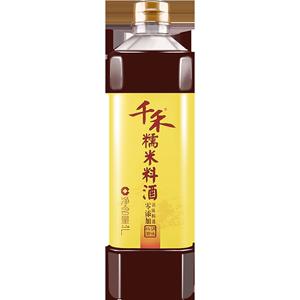 【千禾_零添加料酒】糯米料酒1L 去腥增味提鲜