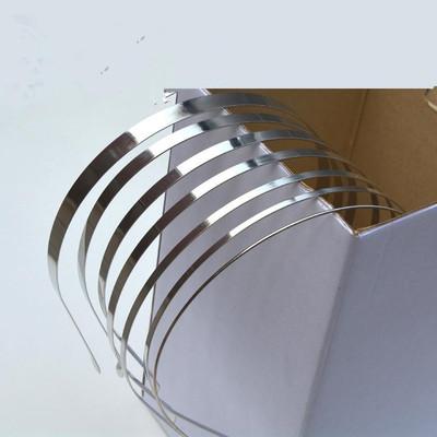 DIY手工配件铁皮不锈钢金属发箍DIY头饰配件饰品头箍材料批发
