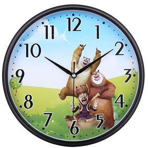 包邮挂钟客厅超静音挂表创意时钟儿童卡通卧室钟表现代坐挂石英钟