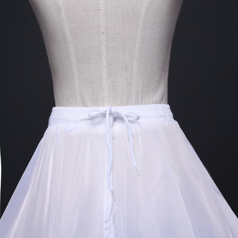 新款裙撑松紧腰加厚6钢圈系绳新娘婚纱礼服造型表演齐地专用裙撑