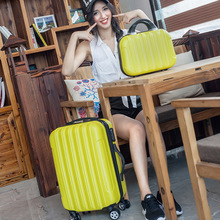Men and women pull rod box universal wheel luggage travel luggage suitcase card board box 20-inch 24 to 28 inches wave packet
