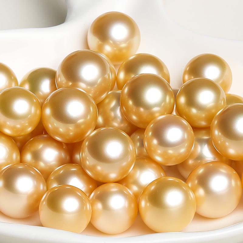 凤仪阁私人定制珍珠首饰来图来料定制加工海水南洋大溪地