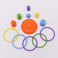 Children's educational toys parent-child ring set ring game throwing ring indoor and outdoor parent-child throwing circle to spread goods