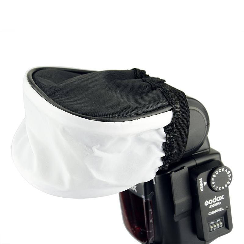 蒂森特 相机闪光灯柔光罩布袋柔光罩 闪光灯布罩 摄影器材配件
