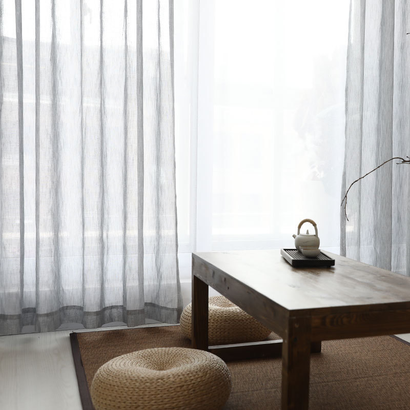 中式窗帘茶室