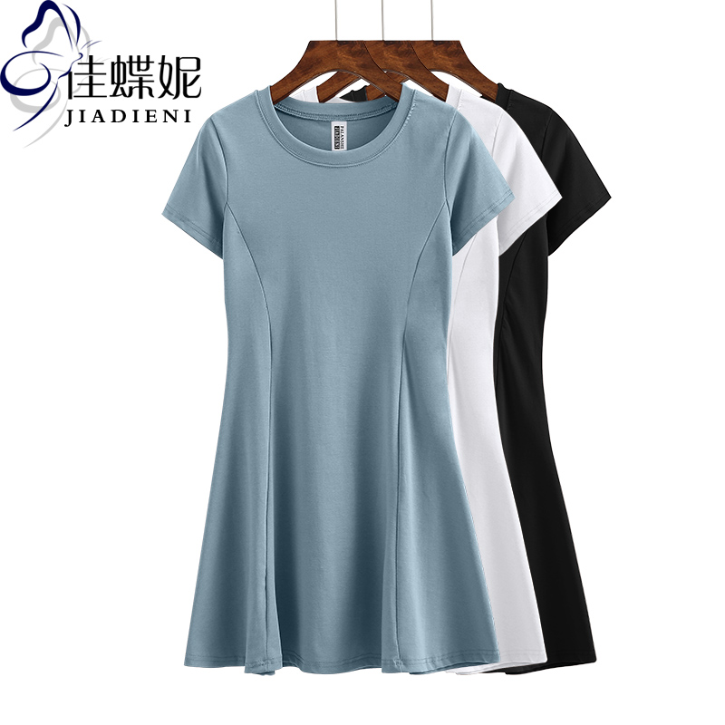 灰色连衣裙夏季