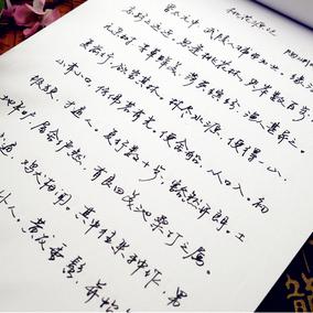 成人行书硬笔字帖行草钢笔字帖公务员临摹速成练字帖名家手写字体