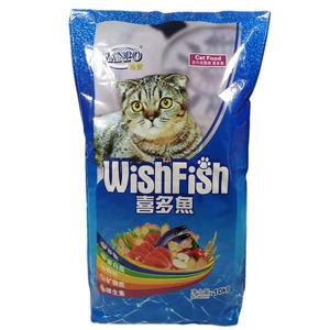 包邮珍宝喜多鱼猫粮10kg 平价猫粮 散装