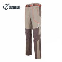 SCALER思凯乐户外男士速干裤弹力透气登山裤超薄运动休闲快干裤