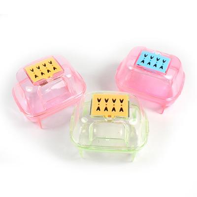 宠物用品仓鼠专用洗澡房除臭桑拿小宠浴室厕所多色可选且环保PVC